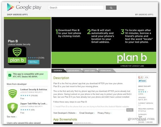 plan b google play store