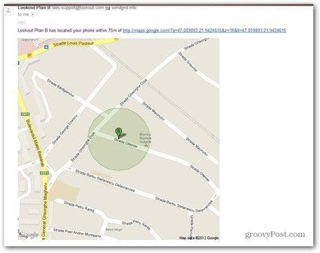 plan b smartphone location