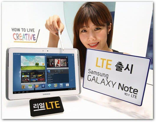 samsung galaxy note 10.1 lte