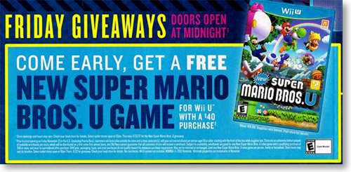 Free Super Mario Bros. U game