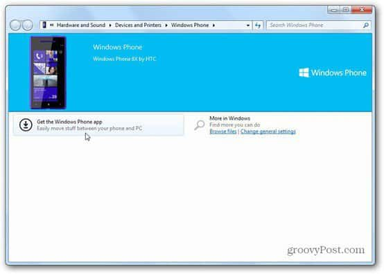 windows phone 8 software install prompt
