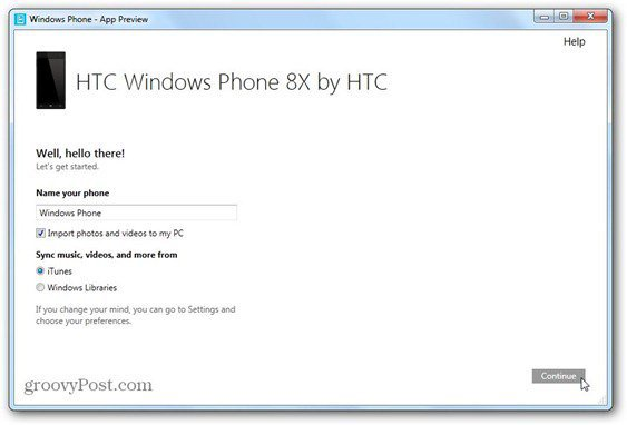 windows phone 8 windows phone app for desktop first screen name phone decid what to sync