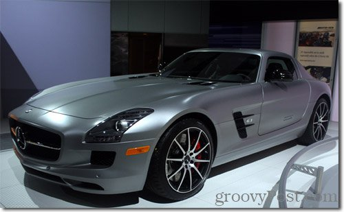 2013-Mercedes-Benz-SLS-AMG-GT-Coupe - Photo Credit :: Phillip Krause, 2012 Los Angeles Auto Show