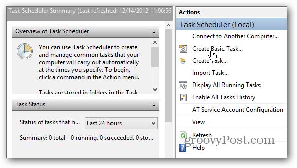 Create Basic Task