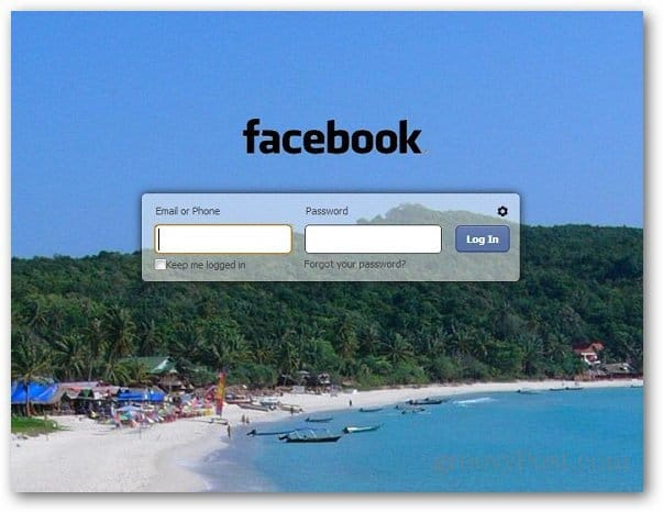 how to add facebook login to chrome
