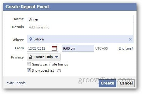 Facebook Events 5