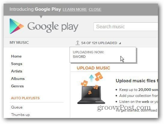 how to use google music