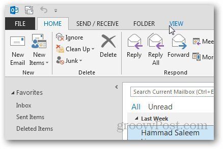 Message Preview Outlook 2