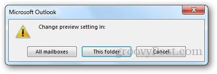 Message Preview Outlook 4