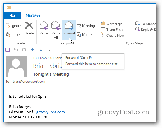 how to set recurring reminder in outlook 2013