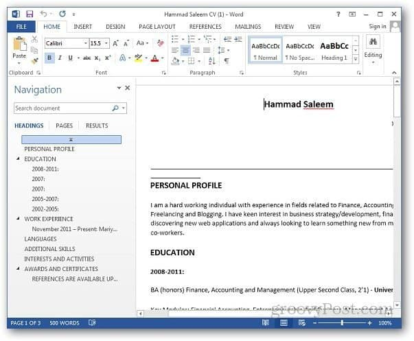 PDF Word 5