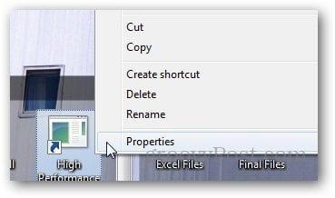 Power Plan Shortcut 6