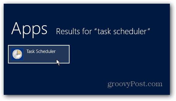 Task Scheduler App Results