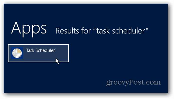 Task Scheduler App Results