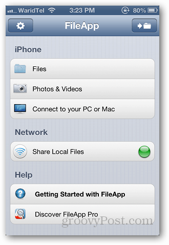 Transfer files ios 4