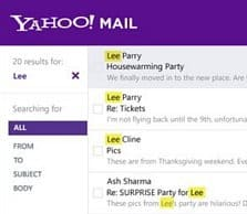 Yahoo Mail Revamped