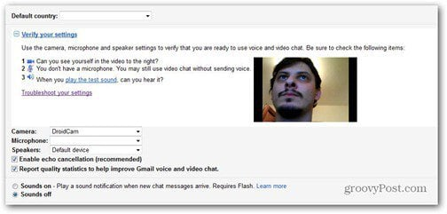 droidcam google talk plugin