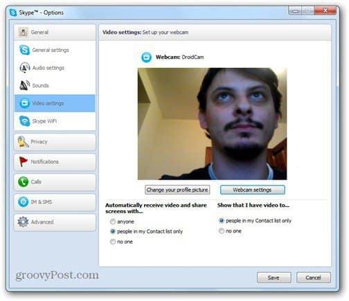 droidcam skype