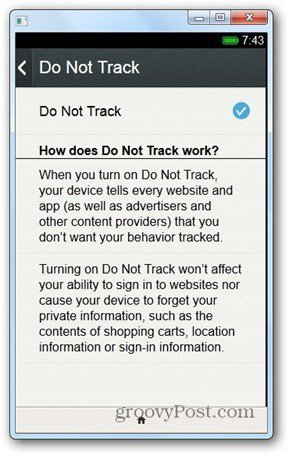 firefox os do not track