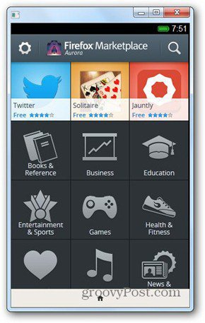 firefox os icons marketplace