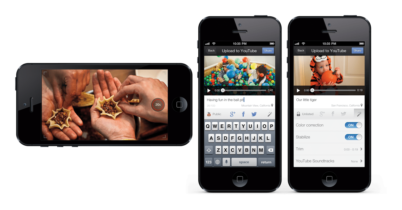 YouTube Capture For iOS Allows Users To Publish Their Videos