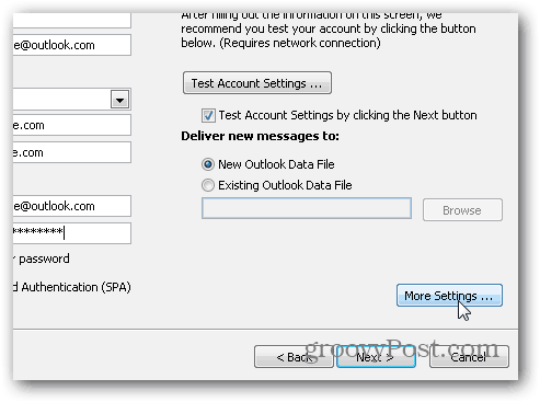 Outlook 2010 SMTP POP3 IMAP settings - 05