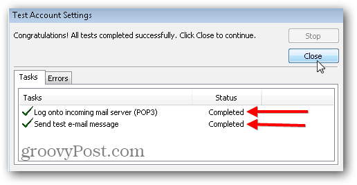 Outlook 2010 SMTP POP3 IMAP settings - 09