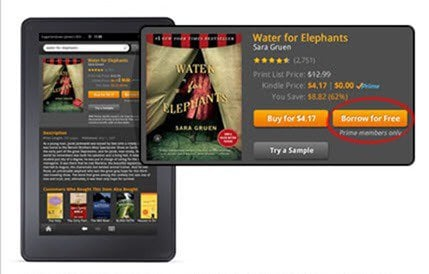 Kindle Owners Lending Library Gets You a Free Book a Month