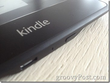 Kindle Paperwhite Power Button