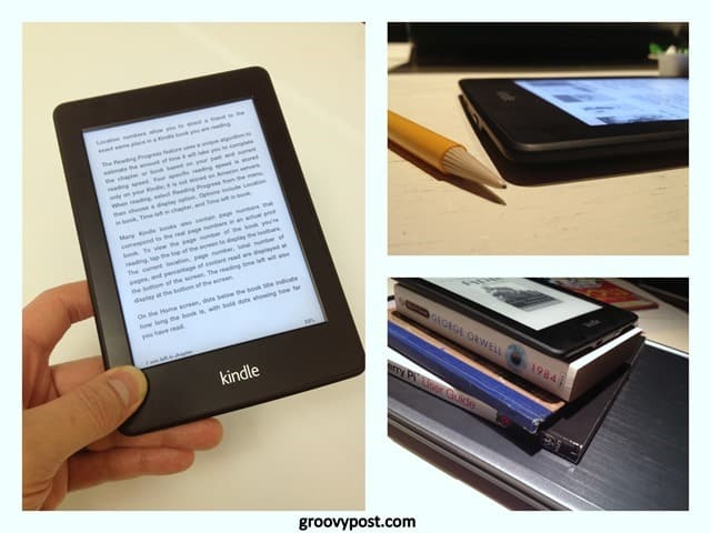 in-depth review and photos of the Amazon Kindle Paperwhite