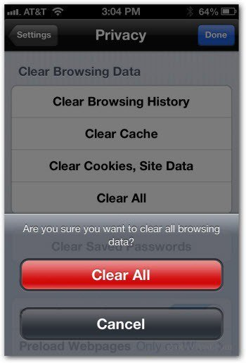 clear cookies on iphone how to clear the chrome browser cache history and cookies 3465