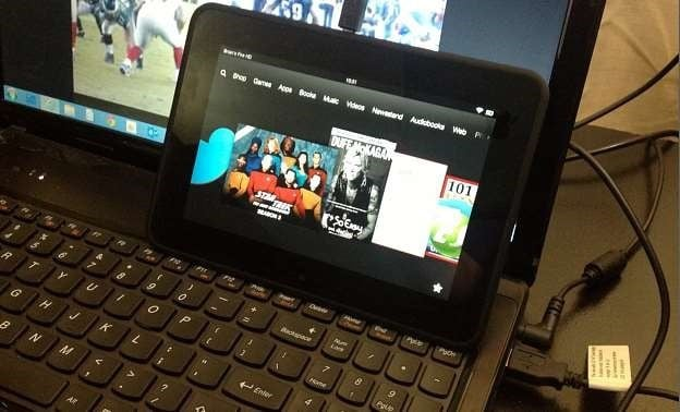 Add Music and Video to Fire HD