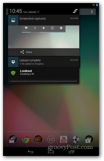 Android take screenshot