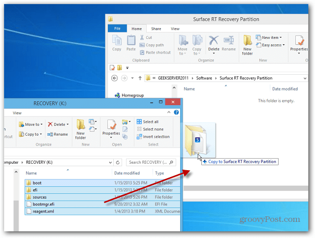 how to delete a folder which keeps coming back