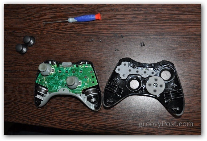 Change Xbox 360 controller analog thumbsticks open