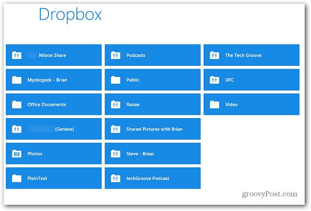 Dropbox RT