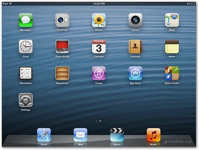 Fresh iPad
