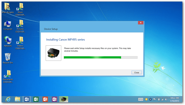 How To Install Printer After Downloading Driver