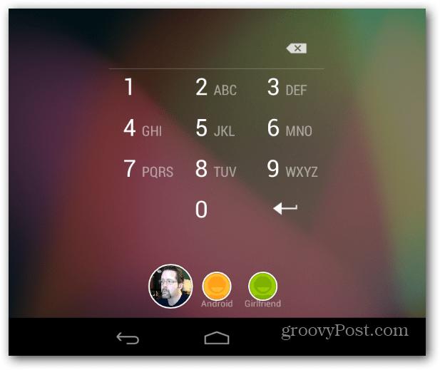 PIN Nexus 7