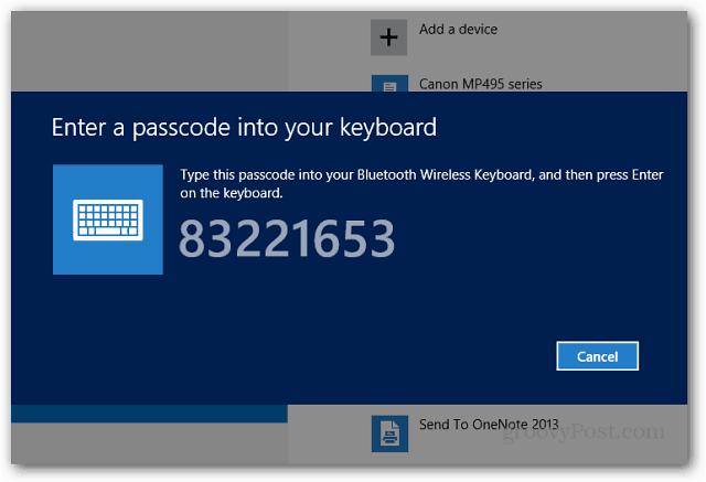 Pair Passcode