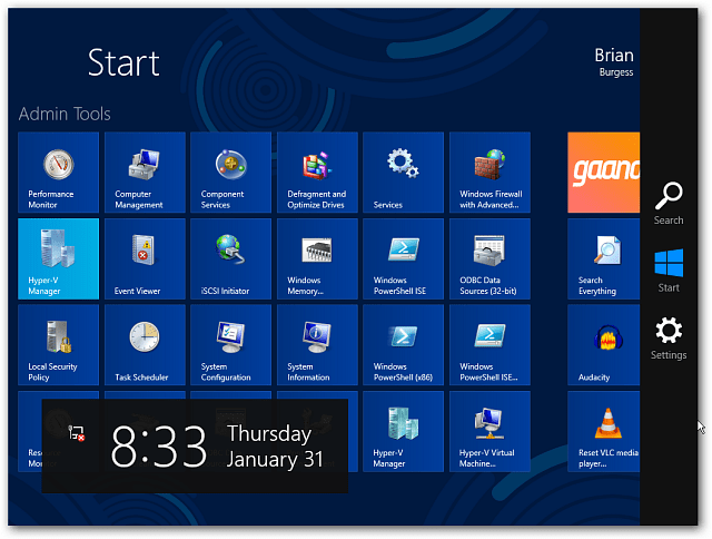 Safe Mode Start Screen Win8