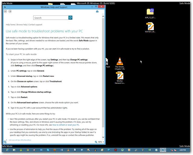 Safemode Desktop