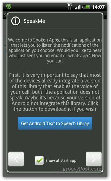 SpeakMe for Android text to speech library