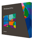 Windows 8 Pro Software Box