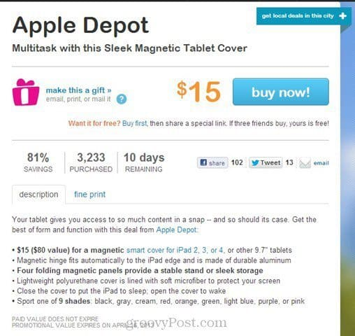 apple depot smart cover review