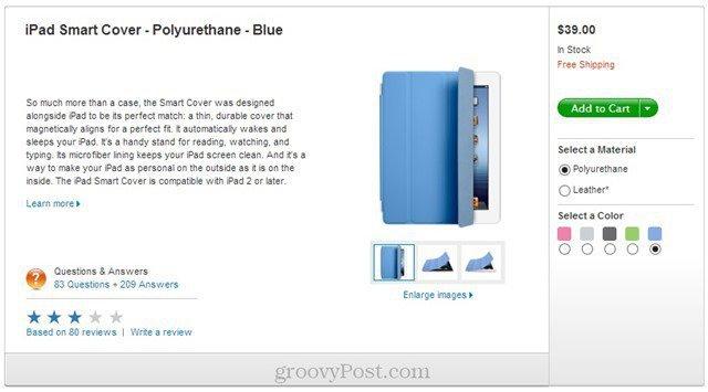 genuine apple ipad cover price