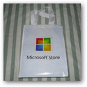 Microsoft Store in the bag