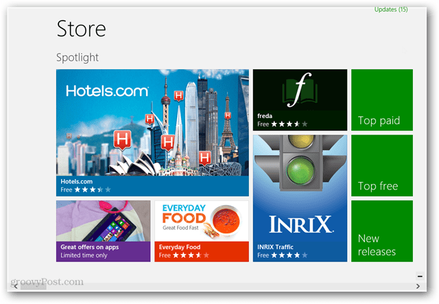 Microsoft Apps Store enabled on Windows To Go
