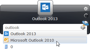 launchy outlook 2013