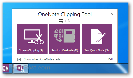 one note clipping tool